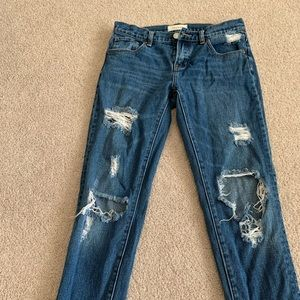 Jeans by PacSun. Size 25. Heavily distressed.
